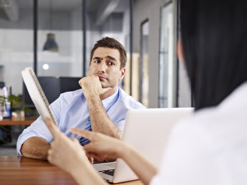 You've been working hard all year and now it's performance review time. What do you do when you sit down for your review with your boss?