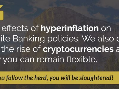 E36: Hyperinflation, Cryptocurrencies, and Infinite Banking