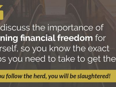 E44: How to Define Financial Freedom And Get There