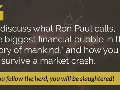 E49: Is the Financial Bubble About to Burst