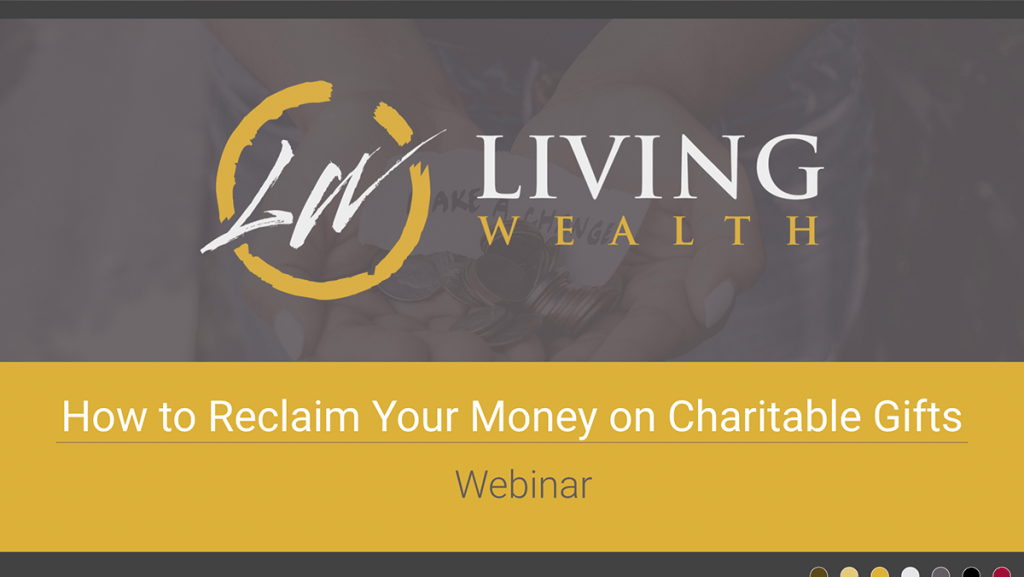 Webinar - IBC for Charitable Gift