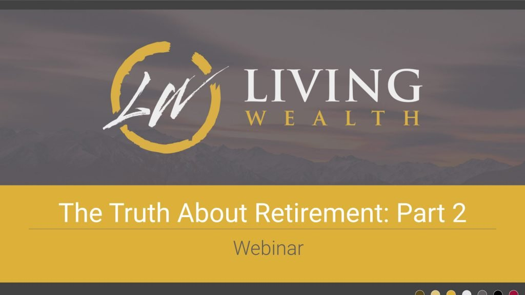 Webinar - Retirement Truth 2